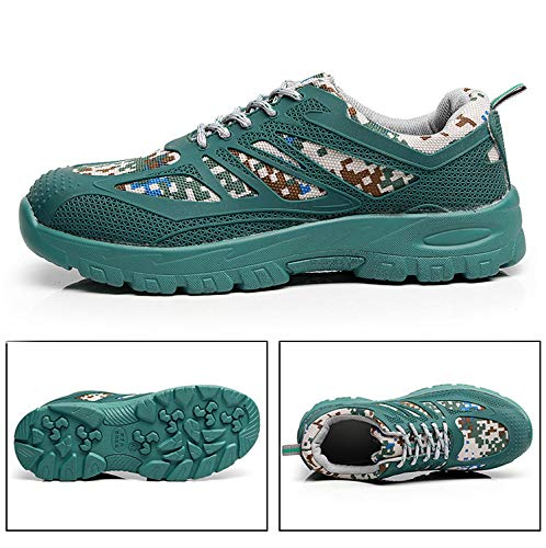 Seguridad 46 A Las Anti Para Perforantes Verde color Perforaciones Ligeros Eu Zapatos Fuxitoggo Hombre Respirables Tamaño Negro De Resistentes EwvwTqF