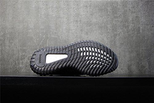 Knit Schnüren Damen Sneakers Herren Weiß Schwarz Sportschuhe Schwarz 350 Serie V2 Sneakers EU38 Boost Atmungsaktiv Schuhe Outdoorschuhe wq8zIW