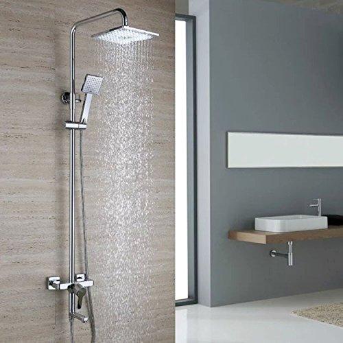 Modern all-copper wall-mounted shower shower faucet shower set