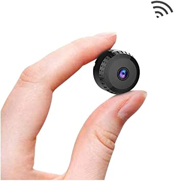 Amazon Com Spy Camera Wireless Hidden Wifi Cameras Aobo 1080p Hd Smallest Mini Security Camera With Phone App For Home Indoor Outdoor Tiny Portable Nanny Cam With Auto Night Vision Motion Detection Alerts