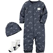 Carter's Baby Boys' 3 Piece Bodysuit Set 3 Months