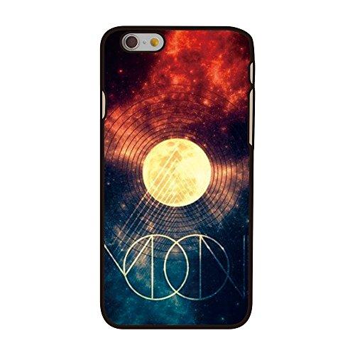 Apple iPhone 6étui rigide en plastique Housse Galaxie Cercles Multicolore decui Multicolore Plastique rigide Coque