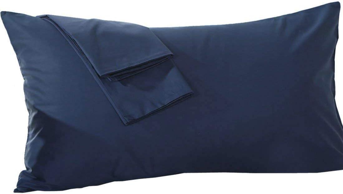 Body Pillowcase 20x60 Zipper Dark Grey Body Pillow Cover Genuine 600 Thread Count 1-Pieces Body Pillow case for Pregnant Women 100/% Egyptian Cotton Body Pillow case 20x60 Dark Grey Solid