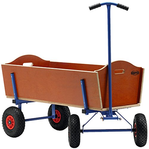 Children's Wagon - L Pull Along Wagon - BERG by Berg (Image #1)