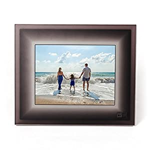 Aura Digital Photo Frame - Beautifully Designed, With Super Easy To Use Connected App, Highest Resolution Digital Frame Ever Made