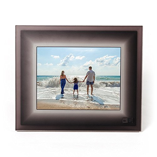 Aura Digital Photo Frame - 9.7 inch (2048x1536) Highest Resolution Digital Frame Ever Made, Beautifully Designed, With Super Easy To Use Connected App