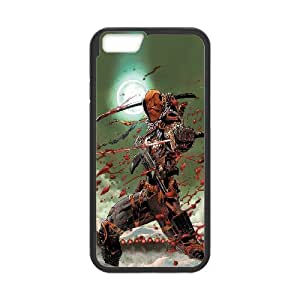 "WJHSSB Diy case Deathstroke customized Hard Plastic Case For iPhone 6 Plus (5.5"") [Pattern-4]"