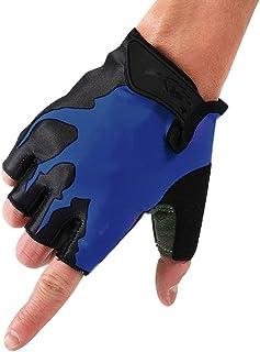 HUIMEIDA Huiide Gants d'entraînement de Fitness avec Repose-Poignet réglable et Semelle en Silicone Palm