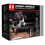 under armour catching gear - UA Victory Catchers Set-Black-Youth