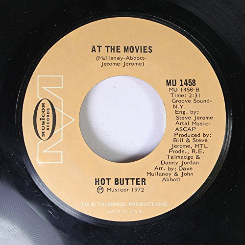 HOT BUTTER - Hot Butter 45 Rpm At The Movies / Popcorn - Zortam Music