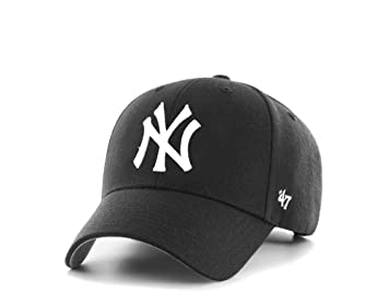 47Brand New York Yankees MVP - Gorra de béisbol, Color Negro ...