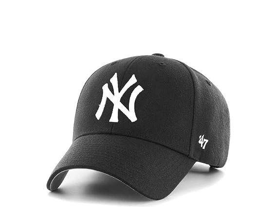 47Brand New York Yankees MVP - Gorra de béisbol, Color Negro ...