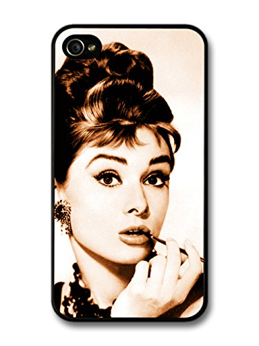 Audrey Hepburn Sepia iPhone 4 4s Case