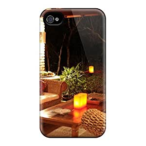 Awesome Beautiful Night Flip Case With Fashion Design For Iphone 4/4s by runtopwell