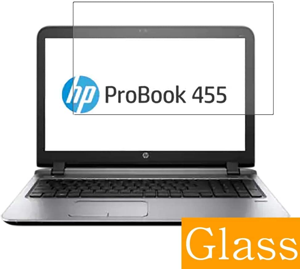 """Synvy Tempered Glass Screen Protector for HP ProBook 455 G3 15.6"""" Visible Area Protective Screen Film Protectors 9H Anti-Scratch Bubble Free"""