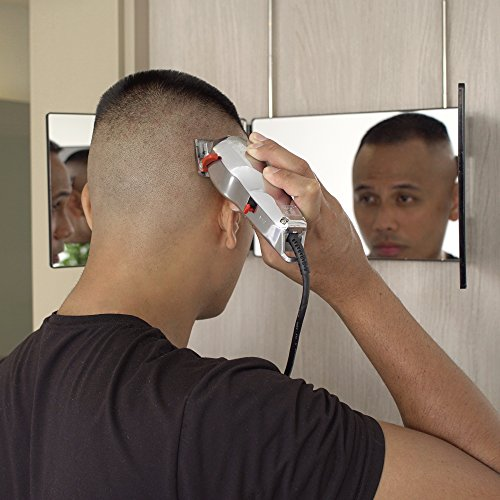 SELF,CUT SYSTEM Travel Version , Three Way Mirror for Self