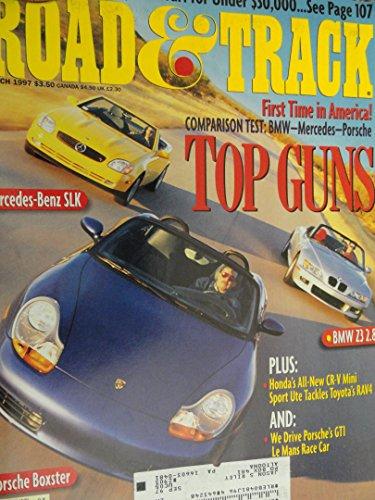 1997 BMW Z3 / 1998 Mercedes Benz SLK230 SLK 230 / 1997 Porsche Boxster / 1997 Honda CRV CR-V / 1997 Toyota RAV4 Road Test