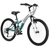 Diamondback Bicycles 2014 Tess Junior Girl's Mountain Bike (24-Inch Wheels), One Size, Green