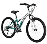 Diamondback Bicycles 2014 Tess Junior Girl's Mountain Bike (24-Inch Wheels), One Size, Green
