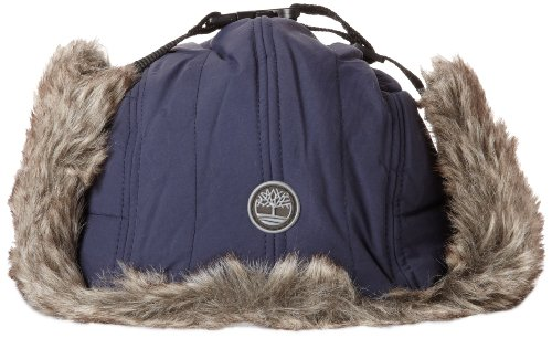 Timberland Mens Quilted Nylon Trapper Navy