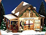 Dept 56 Snow Village Timberlake Outfitters Workshop #55054