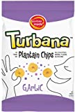 Turbana Plantain Chips Garlic, 3-Ounce Bags (Pack of 24)