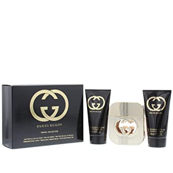 02c501b17 Gucci Guilty Eau de Toilette Spray 50 ml/Body Lotion 50 ml/Shower Gel