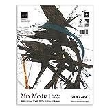 Fabriano Fat Mixed Media Pad, 9 x 12 Inches, 108