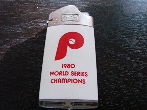 1980 Philadelphia Phillies World Series Lighter (S)