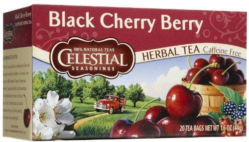 - Celestial Seasonings Black Cherry Berry Herb Tea - 20 Tea Bags, 3 Pack by Celestial Seasonings [Foods]