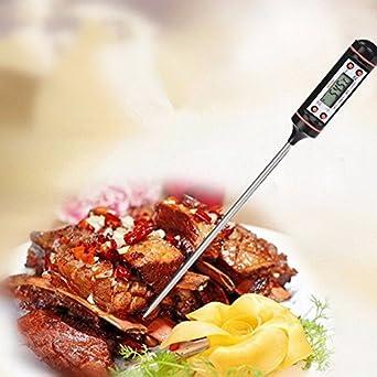 pcs digital food temperature kitchen cooking food meat probe digital