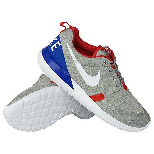 002 University White Rosherun Sport Shoes Grey Heather Red Trainer Qs qrYxY1n0z