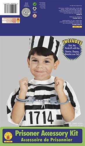 [Rubie's Costume Child's Convict/Prisoner Dress-Up Kit] (Blue Bull Mascot Costume)