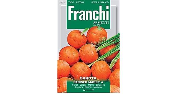 carrots Parijse Markt 4 Franchi seeds