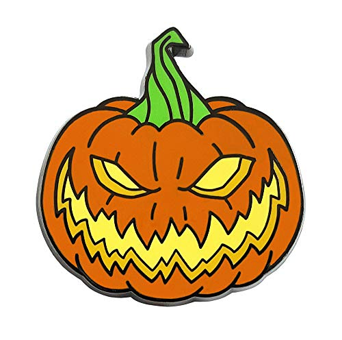 Pinsanity Creepy Horror Halloween Pumpkin Enamel Lapel Pin