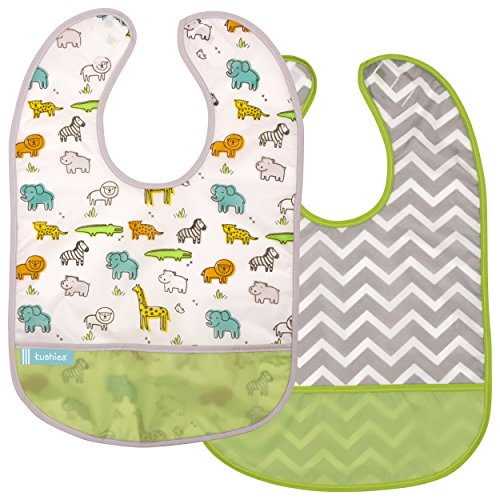 Kushies Cleanbib Waterproof Bib