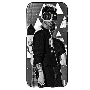 Cool Charming Zayn Malik Phone Case Cover for Samsung Galaxy S7 Edge Zayn Malik Awesome Design Case Shell