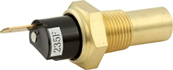 QuickCar Racing Products 61-740 Water Temperature Warning Light Sender