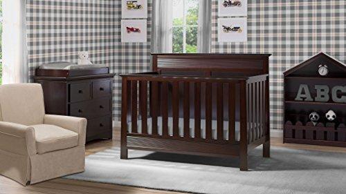 Crib Furniture – 7 Piece Nursery Set – Convertible Crib, Dresser ...