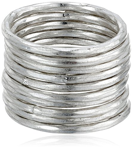 Lucky Brand Silver Stackable Ring, Size 7