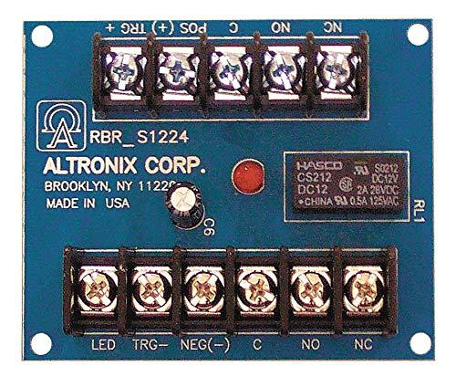 ALTRONIX Phenolic or Fiberglass Ratchet Relay 12//24VDC 20Ma DPDT RBR1224