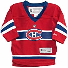 Montreal Canadiens NHL Infant One Size Team Color Jersey Red (12-24 Months)