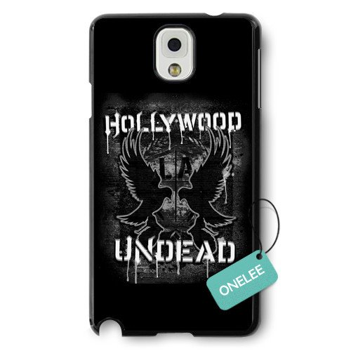 Onelee(TM) - Hollywood Undead Hard Plastic Samsung Galaxy Note 3 Case & Cover - Black 4