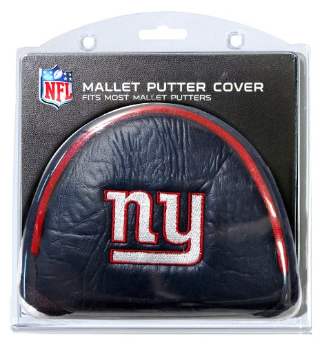 Team Golf NFL New York Giants Golf Club Mallet Putter Headcover, Fits Most Mallet Putters, Scotty Cameron, Daddy Long Legs, Taylormade, Odyssey, Titleist, Ping, ()