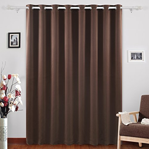 deconovo curtains grommet top thermal insulated wide width curtains for kids room 100 x 84 inch. Black Bedroom Furniture Sets. Home Design Ideas