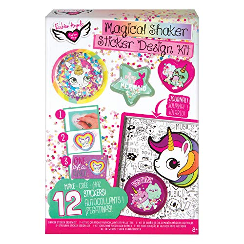 Fashion Angels Sequin Shaker Sticker Design Kit -