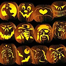 Pumpkin Carving Tattoo Patterns, Family Friendly Party Pack