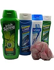Bodywash Bundle & Mesh Shower Sponge