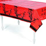 """Chinese New Year Tablecover, 54"""" x 108"""", Plastic"""