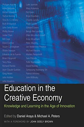 Education in the Creative Economy: Knowledge and Learning in the Age of Innovation